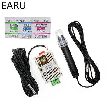 РН датчик температуры датчик обнаружения модуль напряжение 0-5 в 0-10 В 4-20mA RS485 выход рН датчик рН электрод BNC