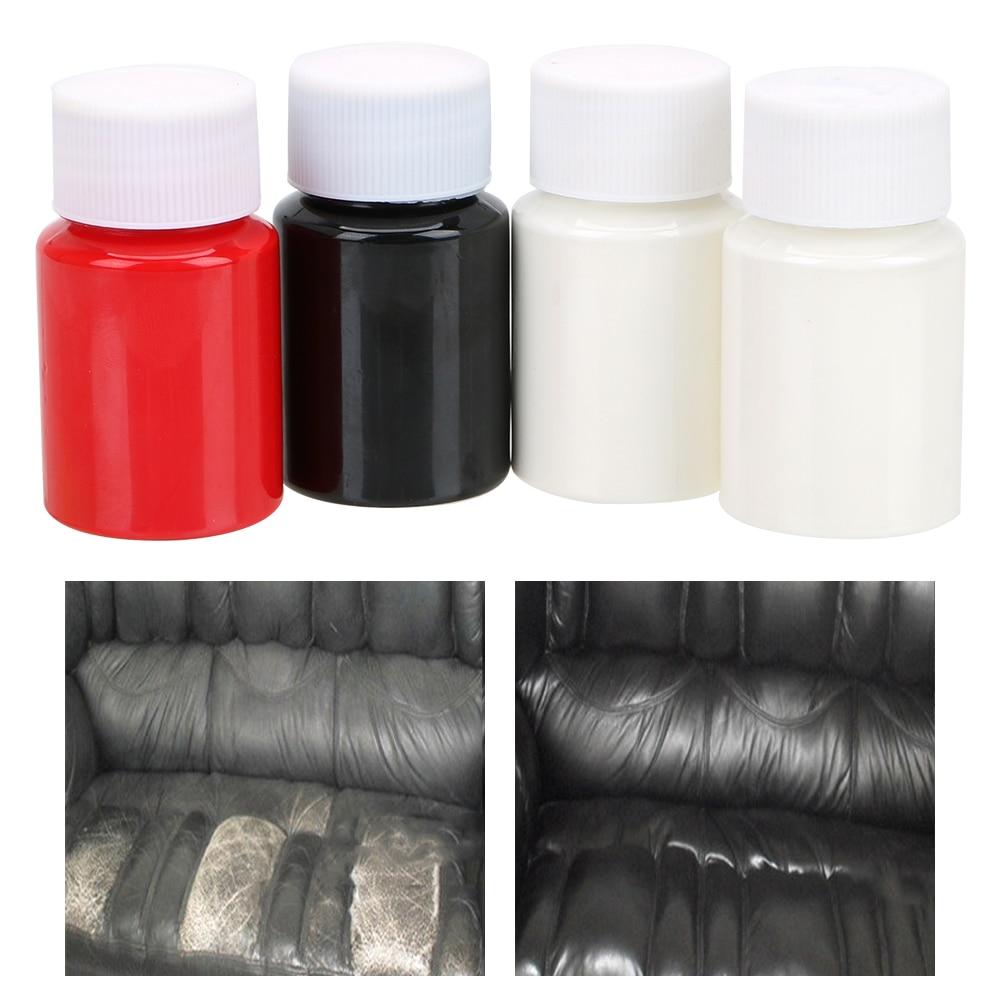 LEEPEE Universal Leather Repair Tool No Heat Liquid 30ml Leather And Vinyl Restorer Car Seat Sofa Coats Holes Scratch Cracks