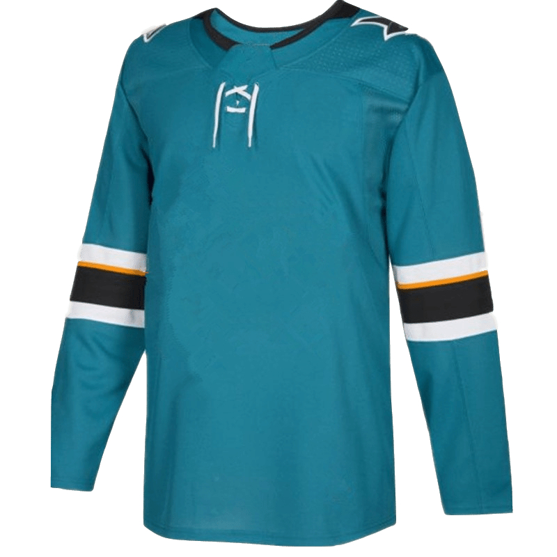 Erik Karlsson Brent Burns Joe Pavelski Logan Couture Tomas Hertl Joe Thornton Martin Jones Evander Kane San Jose Hockey Jersey