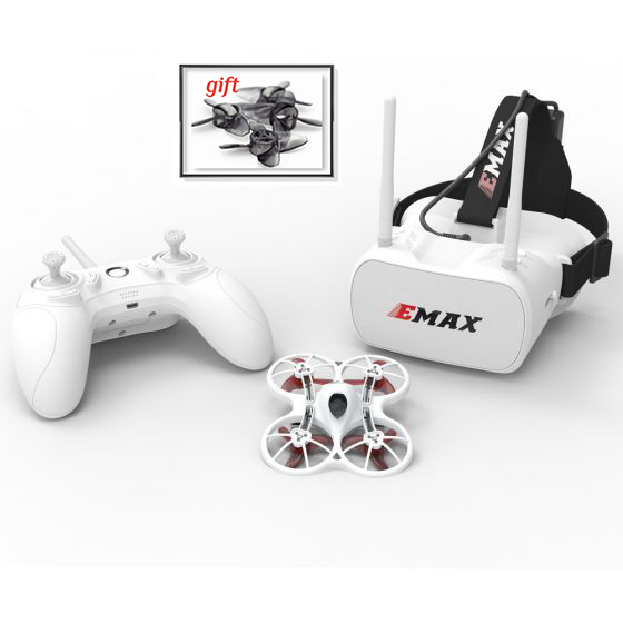 Emax Tinyhawk RTF Kit Rc Plane F4 4in1 3A 15000KV 37CH 25mW 600TVL VTX 1S Indoor FPV  Drone FRSKY D8  With Chrismas Gift