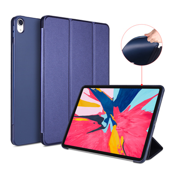 Smart Cover for iPad Pro 11 2018 Case,Aiyopeen Magnetic PU Leather Flip Soft TPU Back Smart cover for iPad Pro 11 inch Case for ipad pro 9 7 inch ultra slim smart cover leather case with matte translucent back case for apple ipad pro no iprs4