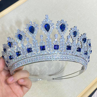 Classic wedding crown bridal headb