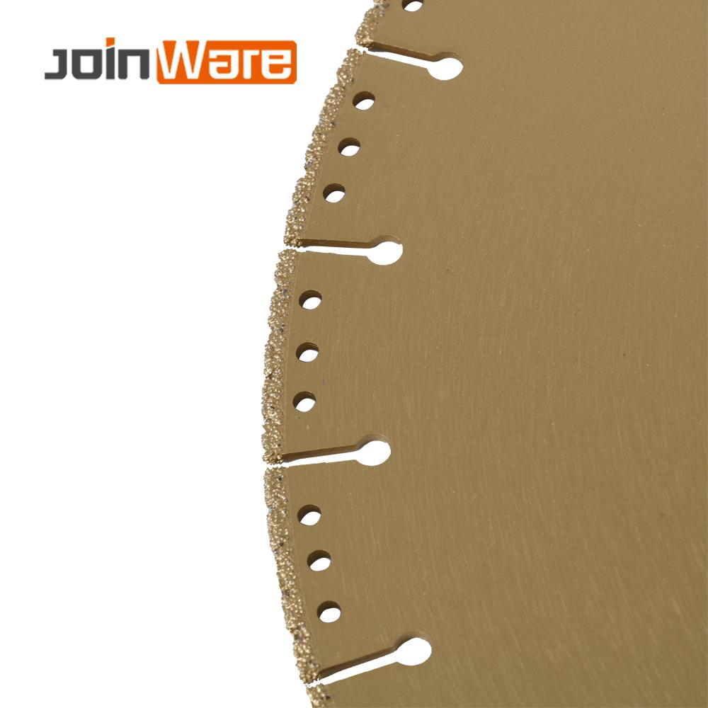DIATOOL 1pc 350mm Vacuum Brazed Diamond Blade For All Purpose 14 Demolition Blade For Stone Iron Steel - 6