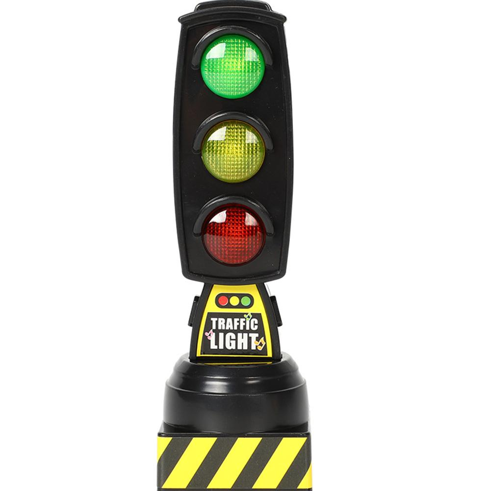 Traffic Light Toy Simulation Traffic Signs Stop Music Light Block Model Early Education Kids Toy