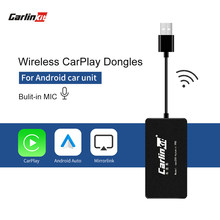 Carlinkit Carplay Nirkabel/Android Auto Smart Link Carplay Dongle untuk Android Navigasi Pemain Mini USB Carplay Mirrorlink(China)