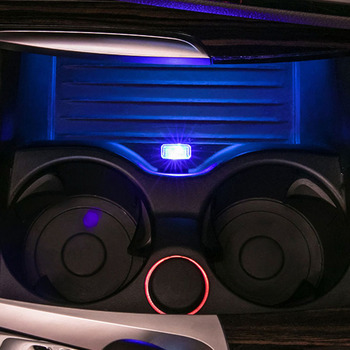 USB Car Modeling Ambient Multicolor Led Light Interior Decoration For BMW E46 E90 E60 E39 F30 F10 F20 X5 G20 G30 Car Accessories image