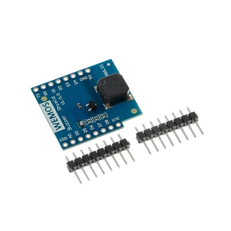 Buzzer Shield Board For Wemos D1 Mini IOT Blynk ESP8266 Node Mcu USD Module