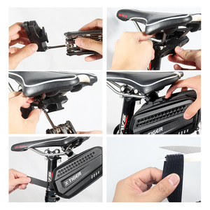 Image 5 - X TIGER 자전거 가방 방수 MTB 자전거 안장 가방 사이클링 Seatpost 대형 Capatity Shockproof 후면 자전거 가방 액세서리