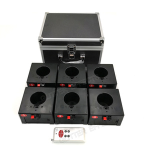 Image 4 - D08 Eight channel remote control indoor fountain base pyrotechnic fireworks wedding machine