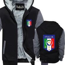 Italy MenS Footballer Legend Soccers thick jacket cotton winter autumn New Costumes for Men shubuzhi hoodie sbz5472