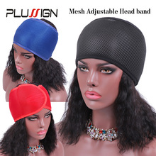 Wrap-Band Mesh Plussign Hair-Closure Non-Slip Adjustable Breathabel New for Big-Hole