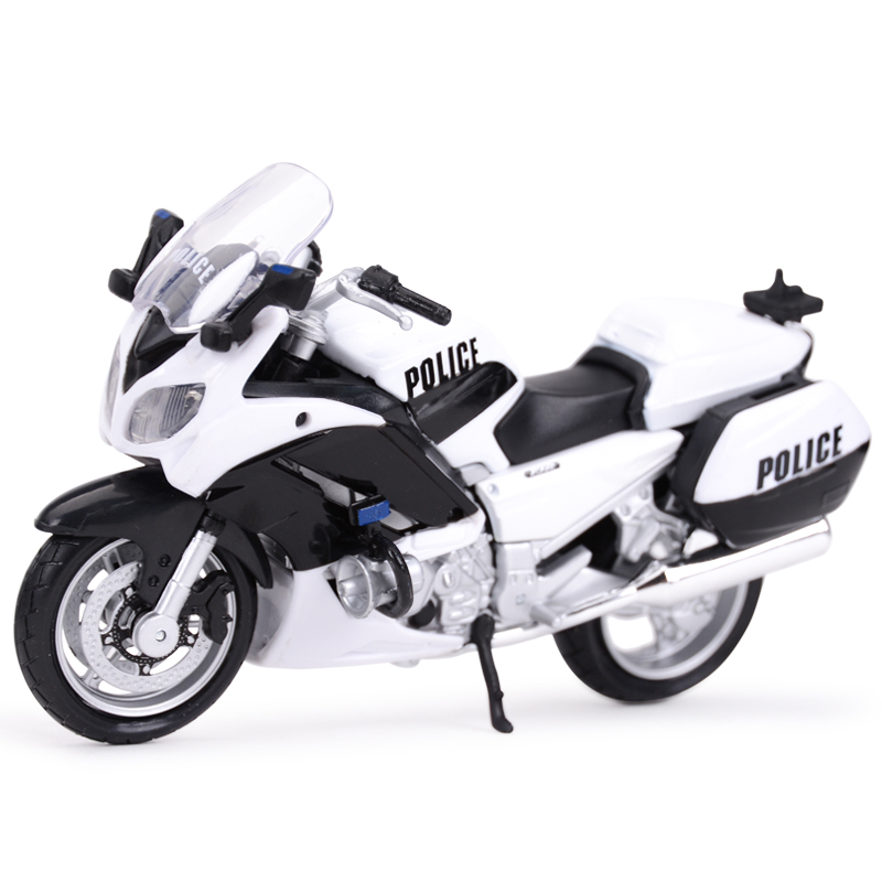 Maisto 1:18 YAMAHA FJR 1300A Police Sport Diecast Alloy Motorcycle Model Toy