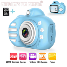 Kids Camera Cartoon Cute Flash 20MP HD Mini Digital