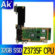 T100TAF Motherboard For Asus T100TAF Tablet Mainboard T100TAF Motherboard Test 100% OK Z3735F CPU 32GB SSD
