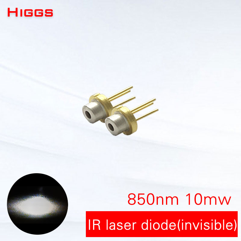 Strong anti-sunshine interference <font><b>850nm</b></font> 10mw infrared <font><b>laser</b></font> <font><b>diode</b></font> IR light <font><b>laser</b></font> module accessories TO18/diameter 5.6mm have PD image