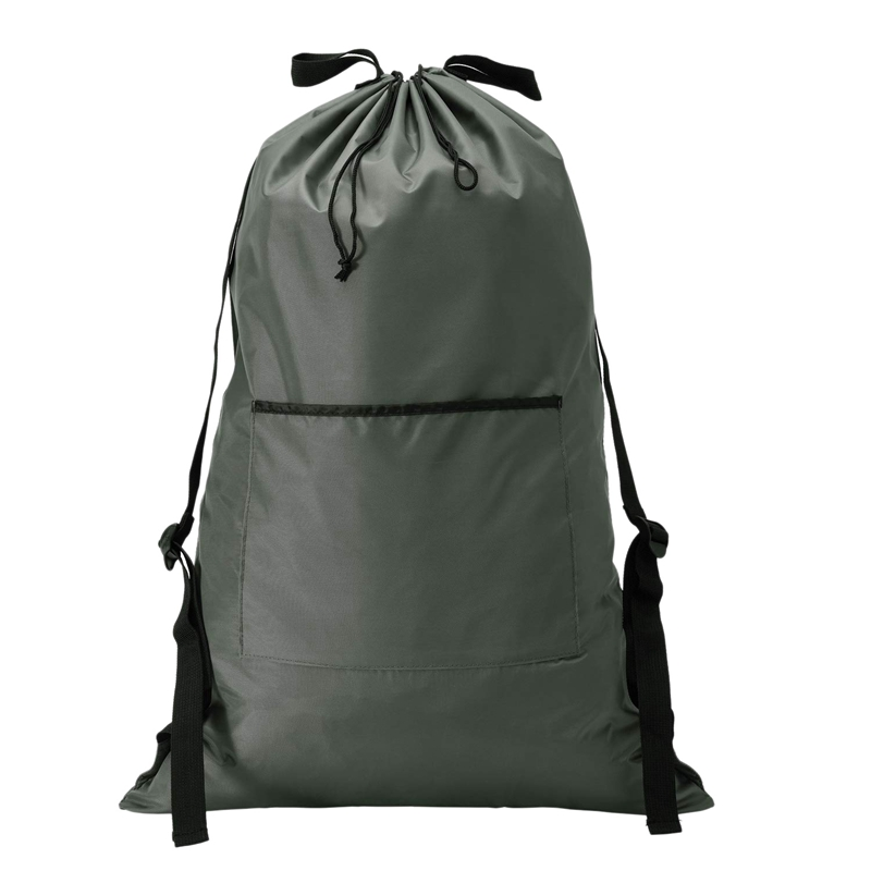 Large Laundry Hanging Bag Backpack With Shoulder Strap, Big Heavy Duty Laundry Bag Door With Hooks, A Good 1 Laundry Bag For Dor
