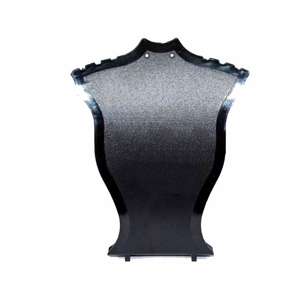 פלסטיק מאוורר בצורת שרשרת Stand עגיל צמיד שרשרת תכשיטי תצוגת Stand Creative תכשיטי מחזיק אריזת מיכל