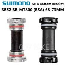Shimano DEORE XT SLX BB52 MT800 каретка SM BB MT800 Hollowtech II горный велосипед MTB BB52 68/73 мм M6000 M7000 M8000