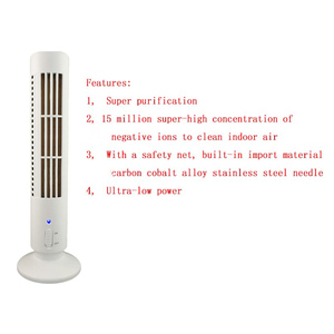 Image 3 - Home Portable Air Purifier Ion Cleaner Air Negative Ion Cleaner Oxygen Bar Ionizer in addition to Formaldehyde Smoke Dust pm2.5