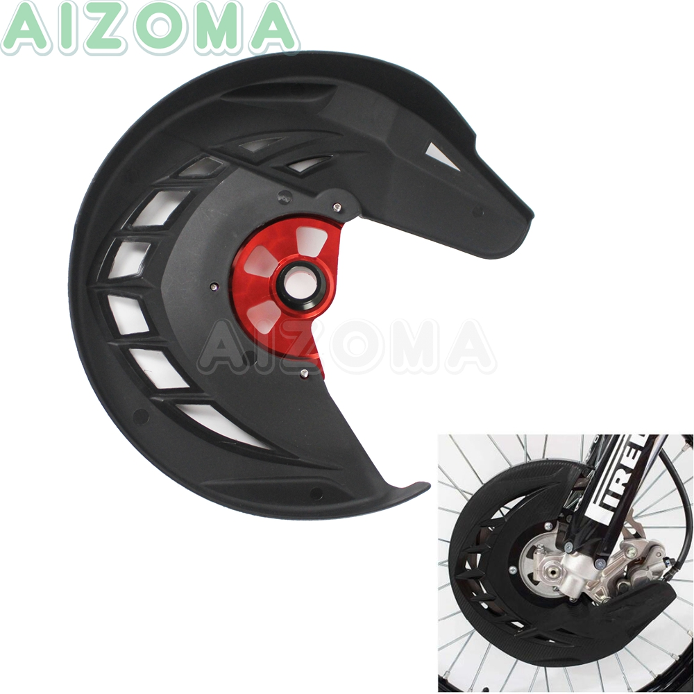 Offroad Motocross X-Brake Front Brake Disc Rotor Guard Cover Protector for Honda CR <font><b>CRF</b></font> 125R/250R/450R/250X/<font><b>450X</b></font>/450RX 2004-2018 image