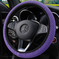 Car ice machine weaving breathable steering wheel sets  Hand Sew Car  For Kia Sorento 2004 2005 2006 2007 2008
