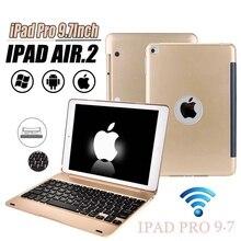 Новое обновление ультра тонкий IPad Pro 9,7 планшетный ПК Bluetooth клавиатура AIR 2 Беспроводная Bluetooth раскладная клавиатура