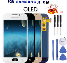цена на 100% Tested Working LCD For Samsung Galaxy J1 Ace J110 SM-J110F LCD Screen Display Touch Digitizer Brightness Control OLED