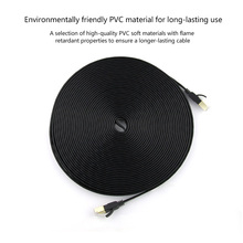 Pvc-Material Router Cat 7 Modem Cable-Network Flat Durable for PC 1/2/3-/..