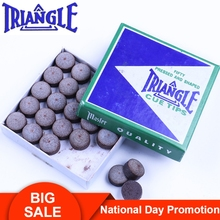Original TRIANGLE Tips Pool Cue Tip Snooker 10mm/11mm/13mm High Quality Professional Billiards Accessories