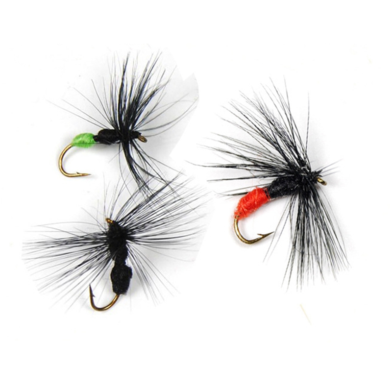 10 Pack Bionic Ant Bait - Red Black Green - Fly Bait Fly Fishing Hook Ant Fly