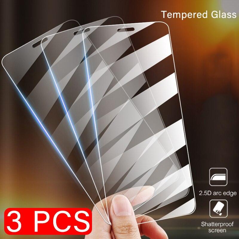 3 peças de vidro protetor para huawei p20 lite p10 plus protetor de tela 9 h 2.5d filme em huawei p9 p8 lite 2018 vidro temperado para p2