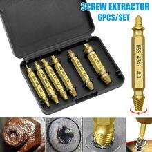 6 шт экстрактор поврежденных винтов инструмент для удаления