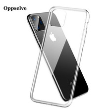 Hot Sale!! Ultra Thin Slim Transparent Phone Case TPU Silicone Clear Cover For Coque iPhone 11 Pro Max Shell