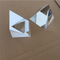 Instrument de mesure de personnalisation de 50*50*50mm pour le matériel optique K9 avec le triprisme à Angle droit réfléchissant externe