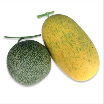 artificial Hami melon honeydew cantaloupe Artificial foamed fruit Furnishing articles props image