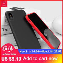 Cho iPhone 11 Ốp Lưng Xundd Liquid Silicone Chống Sốc Giáp Чехол Cho iPhone XS Cho iPhone XR Cho iPhone XS Max dành Cho iPhone 7 Plus
