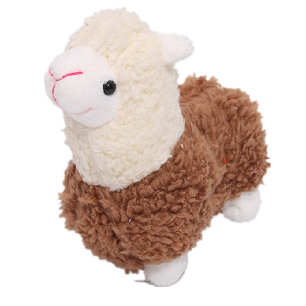 9CM Height Approx. Standing Animal Horse Plush Stuffed Toy , Key Chain Doll Stuffed Animals & Plush cb5feb1b7314637725a2e7: color|White