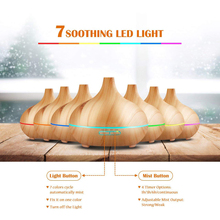 DannyKarl Essential Oil Diffuser 300ml Cool Mist Humidifier Ultrasonic Aromatherapy Diffuser Office Home Bedroom Room Study 300ml ultrasonic humidifier usb home office bedroom mute colorful aromatherapy machine essential oil diffuser