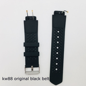 2019 best selling original strap for kw88 smart watch phone watch saat belt replacement watch strap for kw88 pro smart watch(China)
