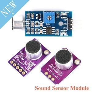 Sound Sensor Module Electret Microphone Amplifier Board MAX9814 MAX4466 Auto Gain Control For Arduino Electronic DIY