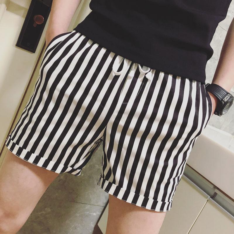 Stripe Shorts Designer Slim Fit Men Shorts Bermudas Masculino Hot Sexy Beach Short Hombre Casual Mens Summer Shorts 2020 Fashion