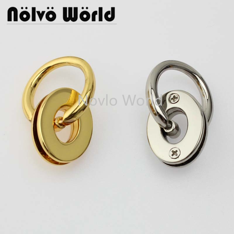 Wholesale 500pcs, 4 Colors Accept Mix Color, Metal Eyelets With Grommet For Alloy Hand Pull Leather Craft Bag Clothes Tag Diy