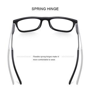 Image 3 - MERRYS עיצוב גברים כיכר משקפיים זכר אופנה קוצר ראיה מרשם משקפיים TR90 מסגרת טיטניום סגסוגת רגליים S2033