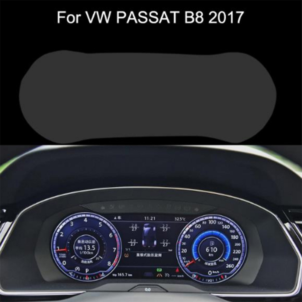 Car  Styling Dashboard Protective Film Instrument Panel Screen Protector For Vw Passat B8 CC Sagitar Car Stickers  Accessories