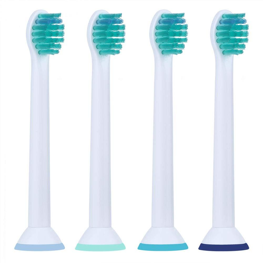 4pcs Best Generic Electric Sonic Toothbrush Replacement For Philips Sonicare Tooth Brush Heads Kids Compact Soft Bristles HX6024 image