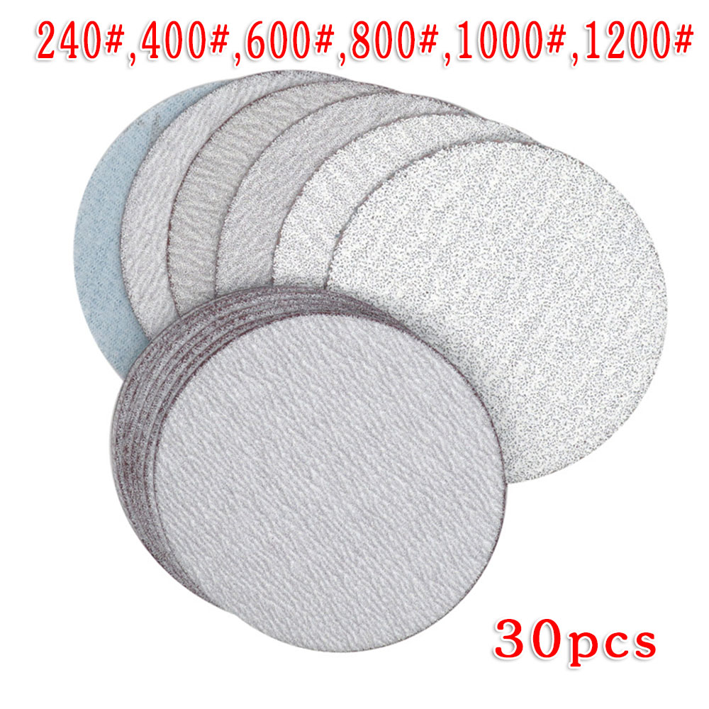 Disc Sandpapers Pad Sanding Tools 3 Inch 75mm 240# 400# 600# 800# 1000# In Polishing Artificial Stone, Furniture And Woodwork, M