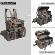 2-in-1 Tactical Pouch Nylon Hunting Range Bag Shoulder Travel Bags