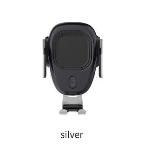 Image 5 - Aqo 自動車電話ホルダー iphone 虎尾インテリジェント赤外線チー車のワイヤレス充電器空気ベントマウント携帯電話ホルダー EDZ 13