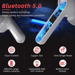 Image 2 - Mpow M21 Tws Oortelefoon Bluetooth 5.0 Draadloze Hoofdtelefoon 18 Uur Spelen Tiem Met Opladen Case Touch Control Oordopjes Voor Telefoon