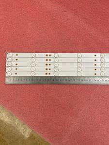 Image 5 - New Kit 5 PCS 10LED(3V) 842.5mm LED backlight strip for 43PFT4131 43PFS5301 GJ 2K15 430 D510 GJ 2K16 430 D510 V4 01Q58 A